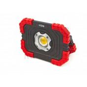 LED Bouwlamp op Batterijen 10 Watt