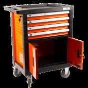 Lege Gereedschapswagen Oranje