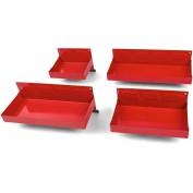 4 Delige Magneetbakkenset rood