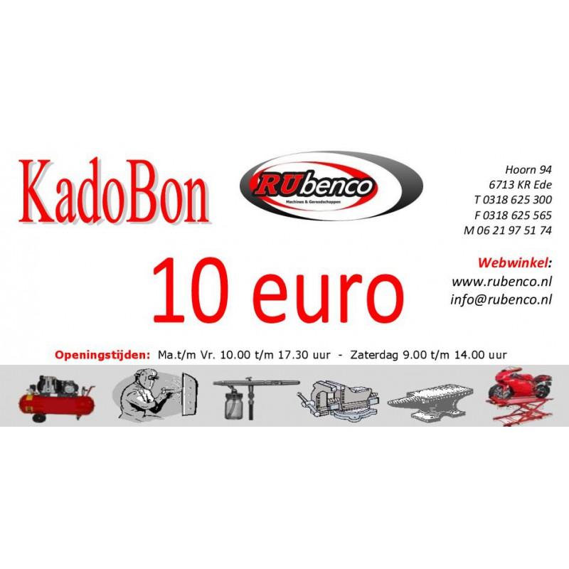 Kadobon Cadeaubonnen 10