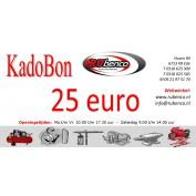 Kadobon Cadeaubonnen 25