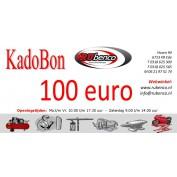 Kadobon Cadeaubonnen 100