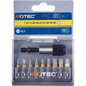 BITSET1/4'' 25 MM TORX + QUICK LOCK 827.9010