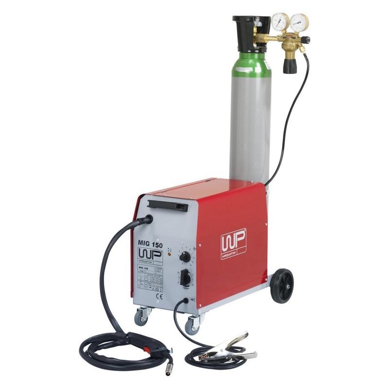 MIG CO2 15O + 10 LITER CILINDER + AUTOMATISCHELASHELM