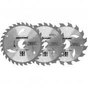 Silverline 3 delige 160 mm