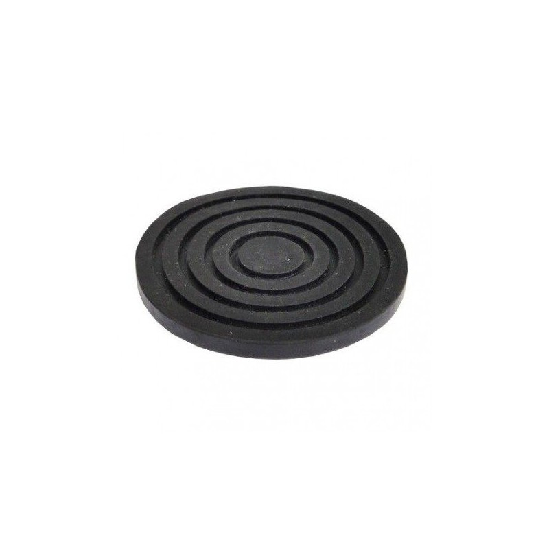 Rubber pad 90 x 8 mm rond