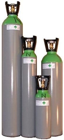 Gascilinders en wegwerpflessen